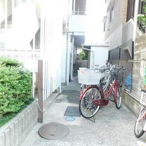 GSハイム目白の駐輪場