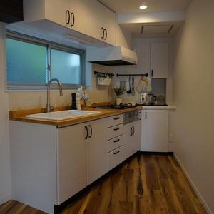 マンション目黒苑(1階,3690万円)のキッチン