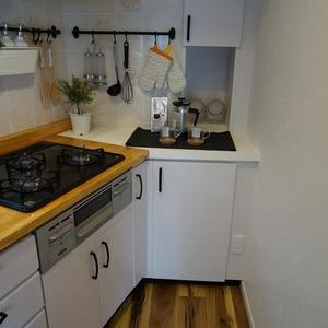 マンション目黒苑(1階,)のキッチン
