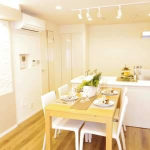 ライオンズマンション中野第2(2階,4880万円)の居間(リビング・ダイニング・キッチン)