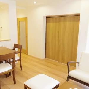 ハイネス東中野プリメール(2階,)の居間(リビング・ダイニング・キッチン)