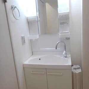 中落合東豊エステート(3階,3840万円)の化粧室・脱衣所・洗面室