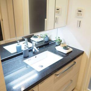 パレステュディオ六本木イースト2(2階,6580万円)の化粧室・脱衣所・洗面室