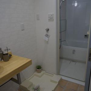 マンション目黒苑(1階,3690万円)の化粧室・脱衣所・洗面室