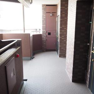 ベルメゾン六本木タワーズ(8階,)のフロア廊下(エレベーター降りてからお部屋まで)