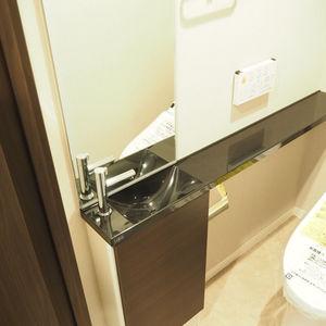 ベルメゾン六本木タワーズ(8階,)のトイレ