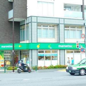中落合東豊エステートの周辺の食品スーパー、コンビニなどのお買い物
