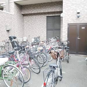 ライオンズマンション錦糸町親水公園第2の駐輪場