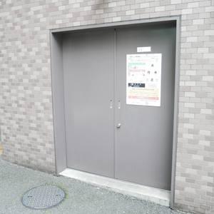 ライオンズマンション錦糸町親水公園第2のごみ集積場