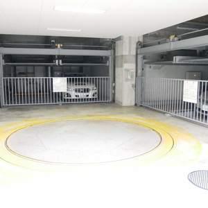 ライオンズマンション錦糸町親水公園第2の駐車場