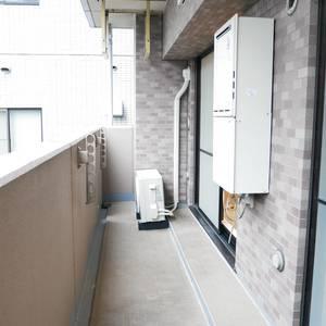 ライオンズマンション錦糸町親水公園第2(2階,4190万円)のバルコニー