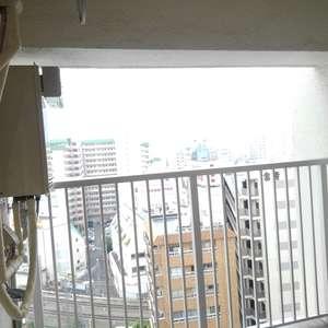 高田馬場住宅(11階,3690万円)のバルコニー