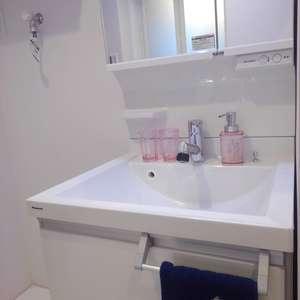 高田馬場住宅(7階,3399万円)の化粧室・脱衣所・洗面室