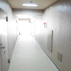 カーサ田原町(8階,4190万円)のフロア廊下(エレベーター降りてからお部屋まで)