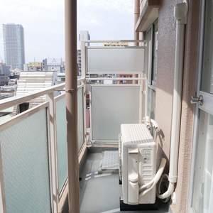 カーサ田原町(8階,4190万円)のバルコニー