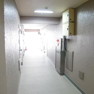 カーサ田原町(11階,4290万円)のフロア廊下(エレベーター降りてからお部屋まで)