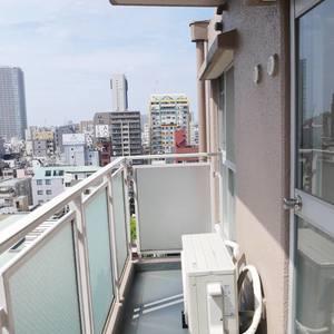 カーサ田原町(11階,)のバルコニー