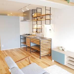 雷門永谷マンション(8階,)の居間(リビング・ダイニング・キッチン)