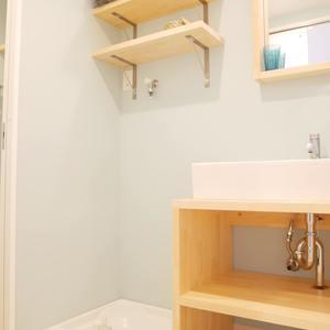 雷門永谷マンション(8階,)の化粧室・脱衣所・洗面室