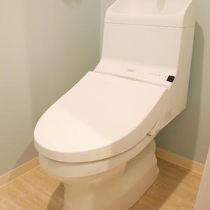 雷門永谷マンション(8階,)のトイレ