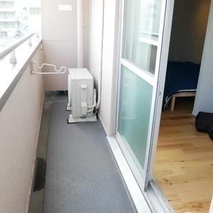雷門永谷マンション(8階,)のバルコニー