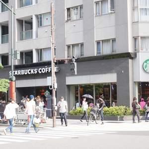 雷門永谷マンションのカフェ