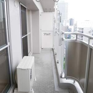 ライオンズマンション錦糸町第2(9階,3680万円)のバルコニー