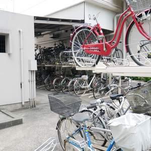 ライオンズマンション錦糸町第2の駐輪場