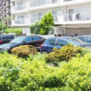 ソフトタウン代々木の駐車場