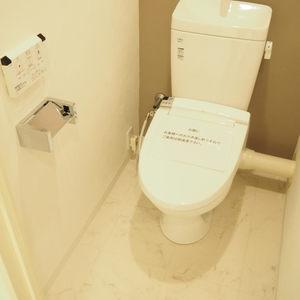 ライオンズマンション初台第2(7階,)のトイレ