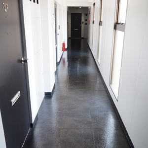 ライオンズマンション初台第2(7階,)のフロア廊下(エレベーター降りてからお部屋まで)