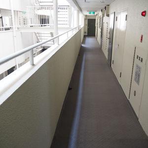ヴィラロイヤル代々木(3階,)のフロア廊下(エレベーター降りてからお部屋まで)