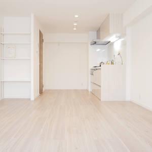 日興パレス雷門(8階,3399万円)の居間(リビング・ダイニング・キッチン)