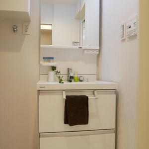 日興パレス雷門(8階,3399万円)の化粧室・脱衣所・洗面室