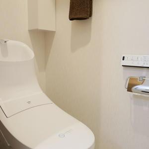 日興パレス雷門(8階,3399万円)のトイレ