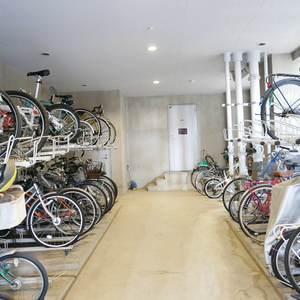 シティハウス浅草ステーションコートの駐輪場