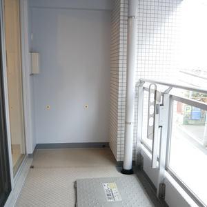 シティハウス浅草ステーションコート(2階,3698万円)のバルコニー