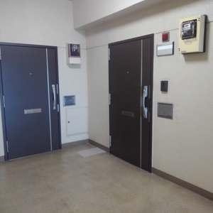 豊島ハイツ(5階,)のフロア廊下(エレベーター降りてからお部屋まで)
