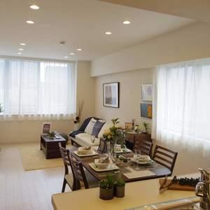 ハウス中野(4階,)の居間(リビング・ダイニング・キッチン)