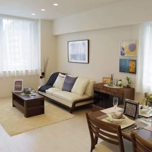 ハウス中野(4階,7690万円)の居間(リビング・ダイニング・キッチン)