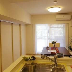 中野ダイヤハイツ(2階,)の居間(リビング・ダイニング・キッチン)