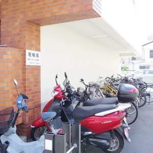 中野ダイヤハイツの駐輪場