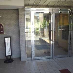 ボヌール目白台のマンションの入口・エントランス