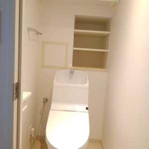 ボヌール目白台(1階,)のトイレ