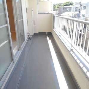 目白台コーポ(4階,)のバルコニー