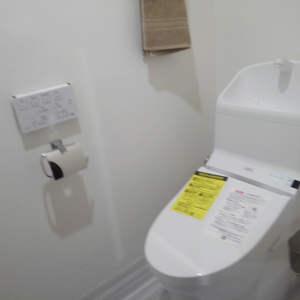 ワコー高田マンション(3階,)のトイレ