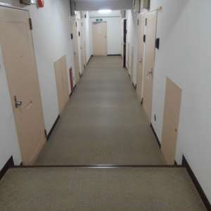 高田馬場リハイム(3階,)のフロア廊下(エレベーター降りてからお部屋まで)