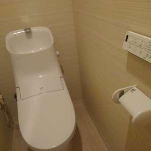 高田馬場リハイム(3階,)のトイレ