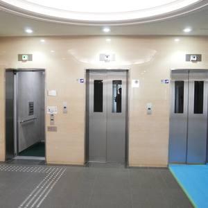 プリメール柳島のエレベーターホール、エレベーター内