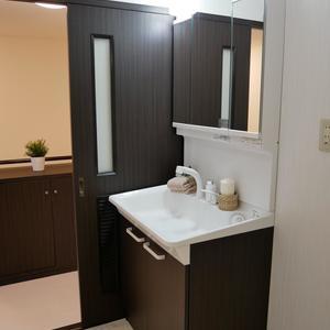 プリメール柳島(9階,4880万円)の化粧室・脱衣所・洗面室